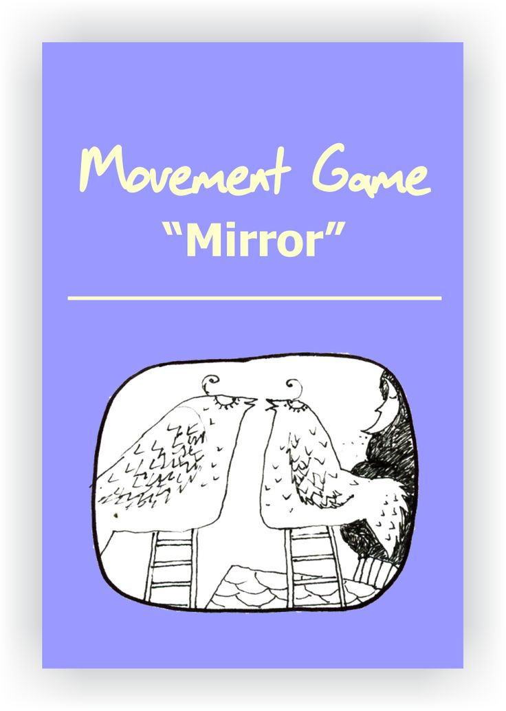 FREE DRAMA GAME~Mirror~ In pairs, players face each other. They choose one person to lead and one person to follow. The goal of the game is for the players to feel completely in sync with one another. Read more...  https://www.dramanotebook.com/drama-games/mirror/