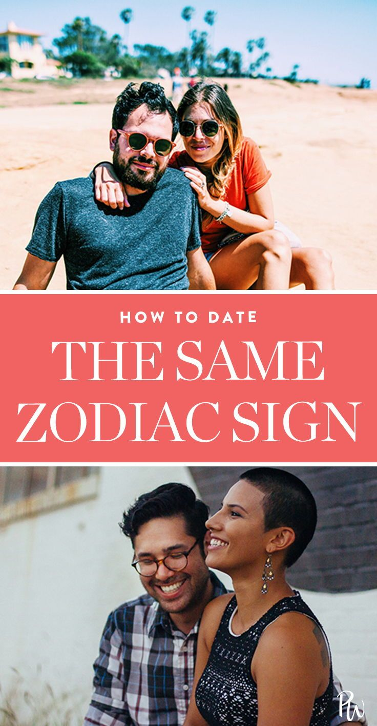 dating someone with the same astrological sign