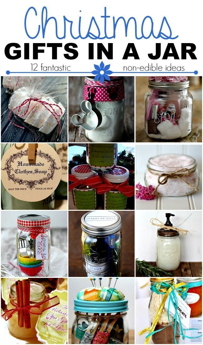 Christmas Gifts In A Jar Non Edible Ideas This Girl S Life Blog Homemade Christmas Gifts Jar Gifts Homemade Christmas
