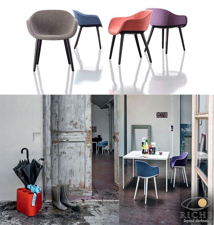 Ο Marcel Wanders σχεδίασε για την Magis την σειρά καθισμάτων Cyborg Lady για να γεμίζουν χρώμα και στυλ την τραπεζαρία μας και να μπορέσουμε να απολαύσουμε αναπαυτικά την επιστροφή μας στο σπίτι μετά από μία βροχερή μέρα σαν την σημερινή.