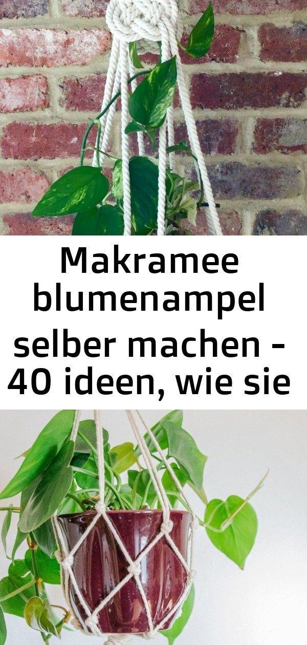 #Blumenampel #bringen #den #ein #Flair #frisches #Ideen # ...