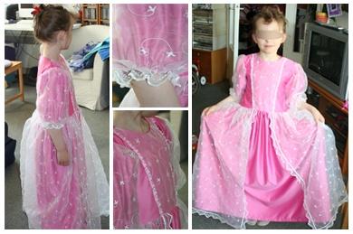 Robe de princesse                                                                                                                                                                                 Plus