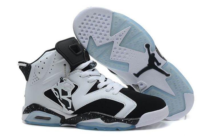 49 ... Cheap Retro Jordans 6 White Black