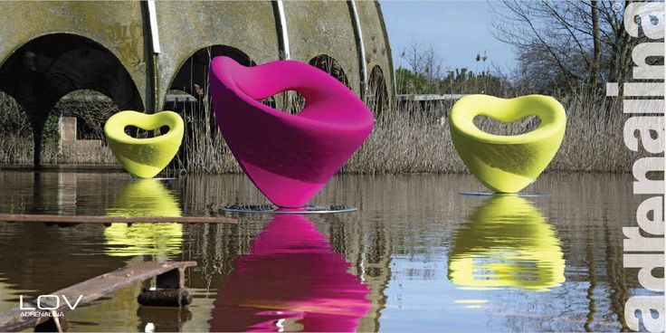 Refreshing and eye-catching, Lov is an exciting touch of originality for your space.  Design from DOMINGO.