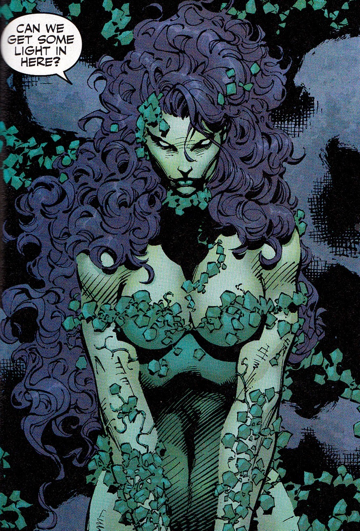 Poison Ivy by Jim Lee *