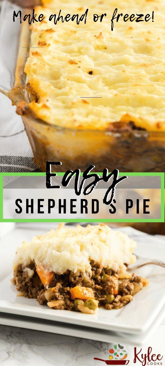 Easy Shepherd S Pie With Beef Shepardspie In 2020 Rezepte Essen Komfort Essen