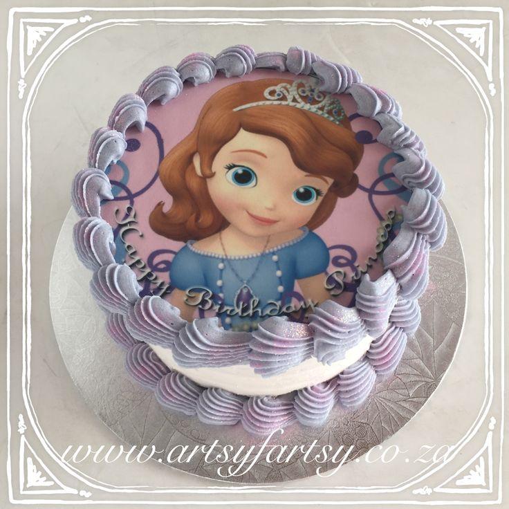 Sofia the first Cake #sofiathefirstcake