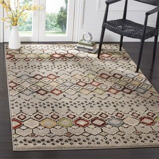 Shop for Safavieh Amsterdam Bohemian Light Grey / Multicolored Rug (8' x 10'). Get free shipping at Overstock.com - Your Online Home Decor Outlet Store! Get 5% in rewards with Club O! - 19440976