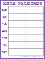 Was looking for a simple, 2 week meal planning sheet and finally found this after finding a bunch of 1 week detailed (4 meals a day) sheets