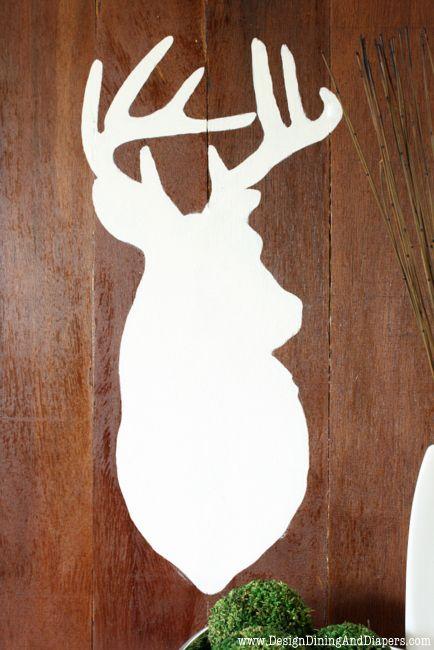 Deer Head Sillouette