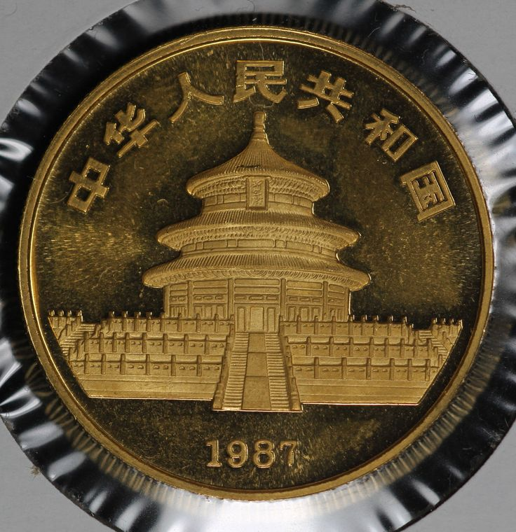 1987 Chinese Panda Gold One Ounce Proof Coin
