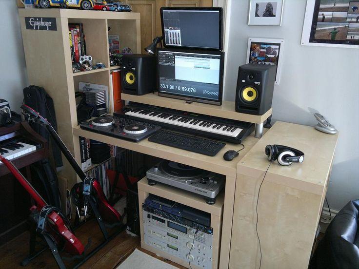 Lack Rack Amp Expedit Desktop Synthesizerz Kallax Desk