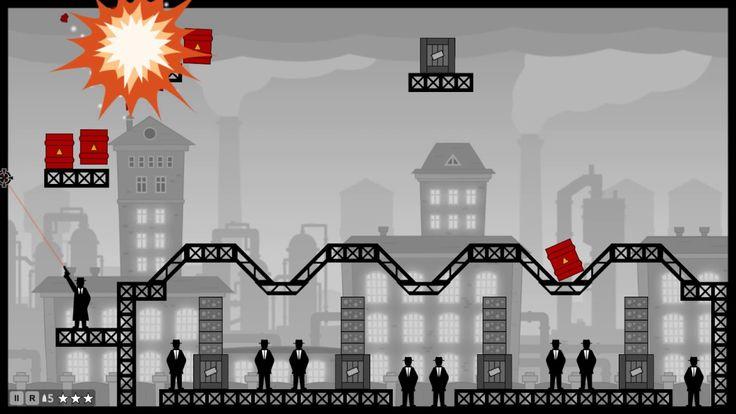 СМАЧНЫЕ УБИЙСТВА! - Стрелялка Ricochet Kills: Noir #3