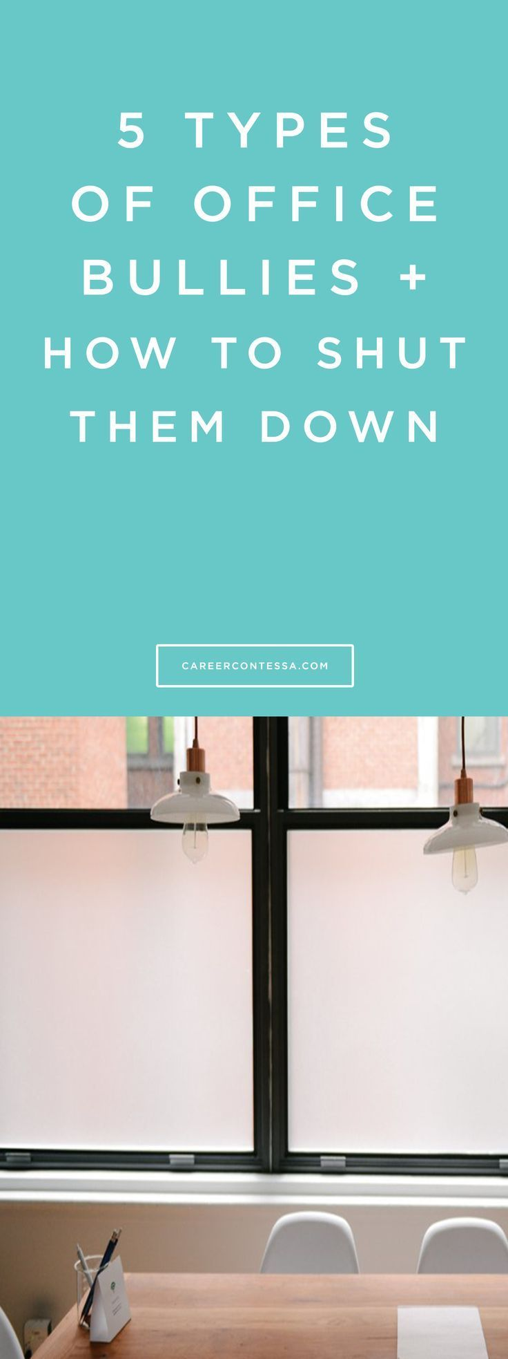 5 Unavoidable Office Bullies (And How To Shut Them Down)