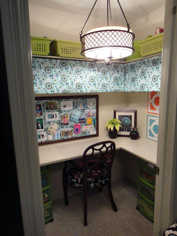 Image result for closet turned craft room