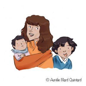 Anne sophie a2 Plumes Enfants Aurélie Blard Quintard