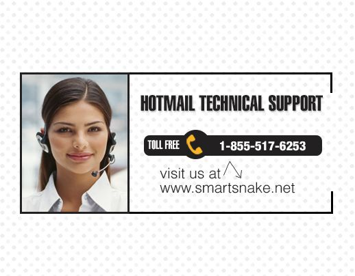 For all the issues you are getting, Smartsnake offer you wonderful Hotmail technical support @ 1-855-517-6253 (toll-free). Don't worry and give us a chance to provide you great Hotmail help support at your convenience. We remotely assist you and fix all your errors immediately. Our experienced technicians take care of your account by offering required Hotmail technical support.