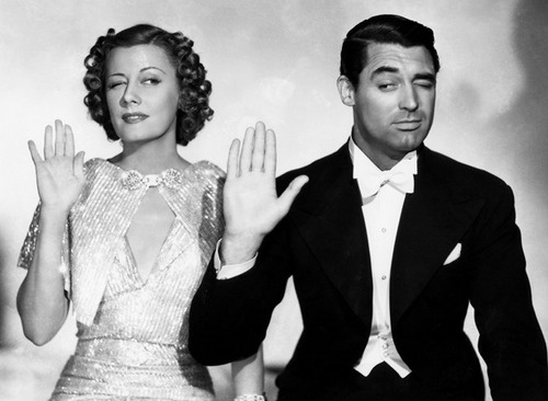 Love their dynamic. Irene Dunne and Cary Grant.