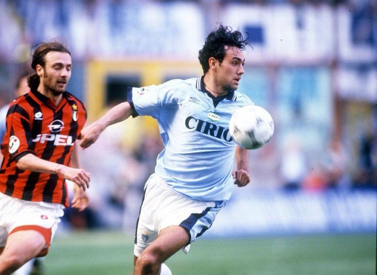 Christophe Dugarry and Alessandro Nesta