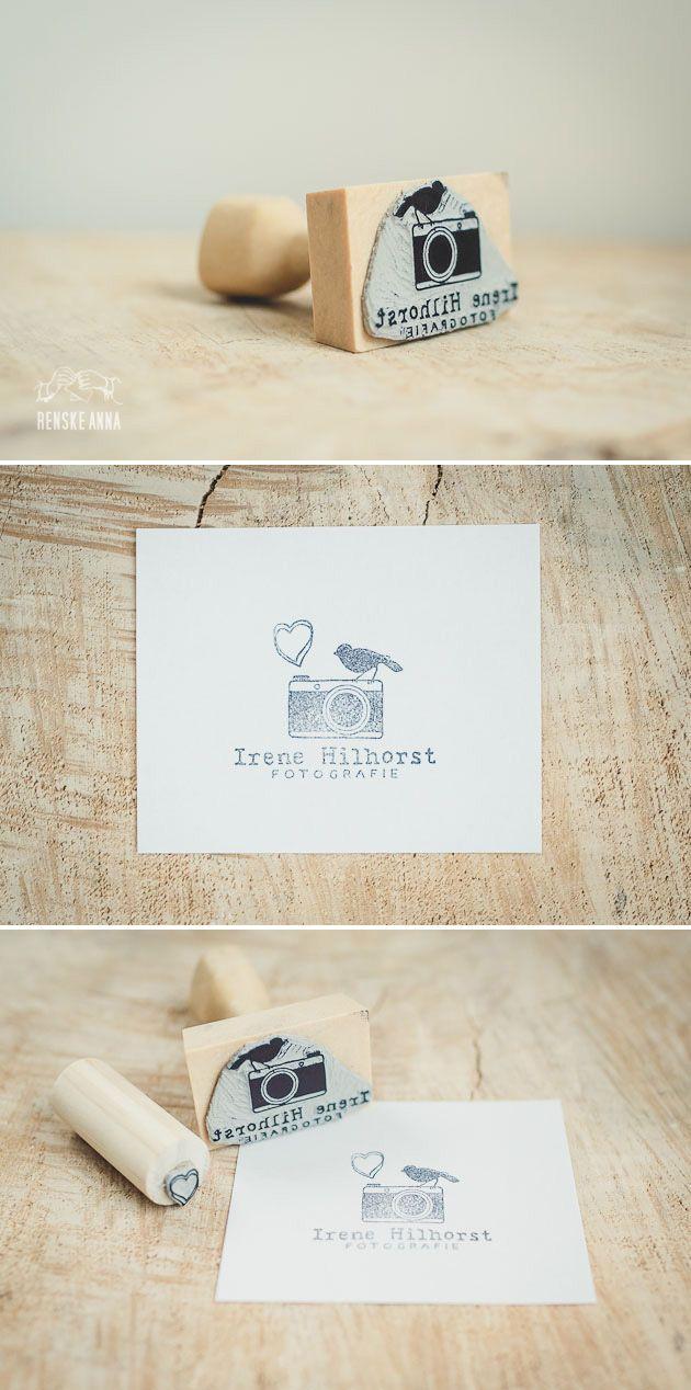 Logostempel voor Irene Hilhorst fotografie