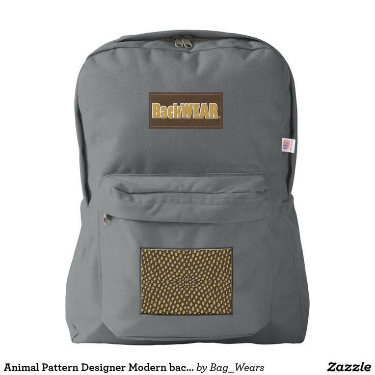 Animal Pattern Designer Modern backpack Buy Online https://www.zazzle.com/bag_wears/products?rf=238136051362953437