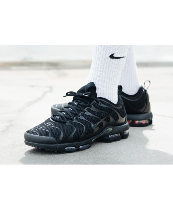 separation shoes 0526e 8db70 Nike Air Max Plus TN Ultra Triple Black Trainers