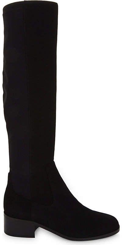 ae8d0740172 Lk Bennett Bella stretch suede knee boots