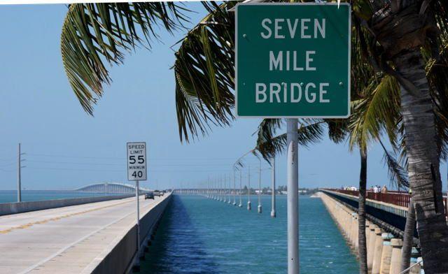 フロリダ州 キー・ウェスト セブンマイルブリッジ