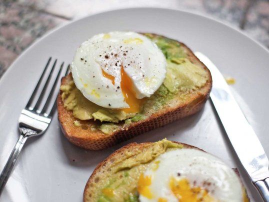 Perfect Poached Eggs in a microwave (on Avocado Toast)