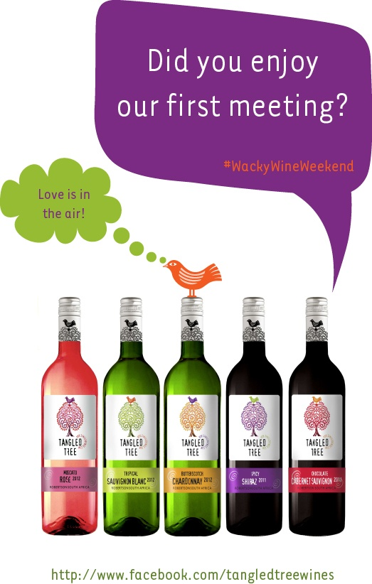 What did you think of our wine? #wackywine I love it!