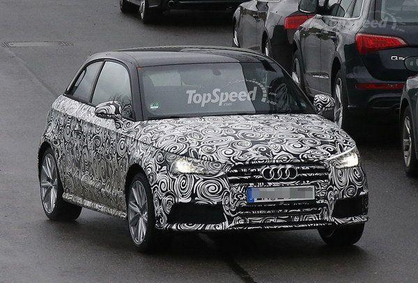 Spy Shots: Audi S1 Caught Testing In Germany