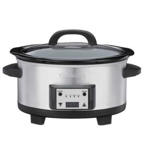 Cuisinart Programmable Slow Cooker: By now you must be thinking that we are in love with everything Cuisinart, but I really don't have a choice as their products are so innovative and top class. Take this Slow Cooker for example. The price on this one is just right, it has all the programmable function one looks for in a cooker and is made out of stainless steel making it a great display piece.