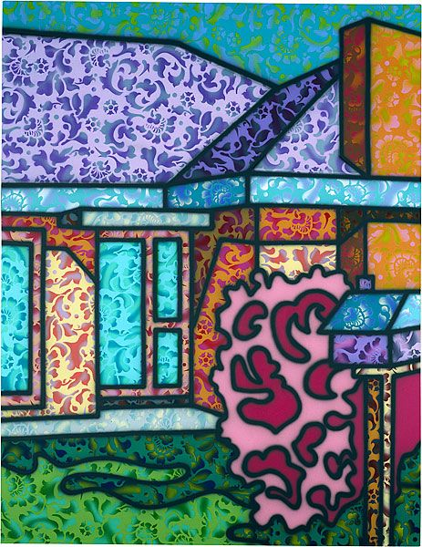 In the world of Australian art, Howard Arkley has become synonymous with suburbia. Surprisingly, Arkley says he is ambivalent about the suburbs: It changes from day to day, from hour to hour. I can…