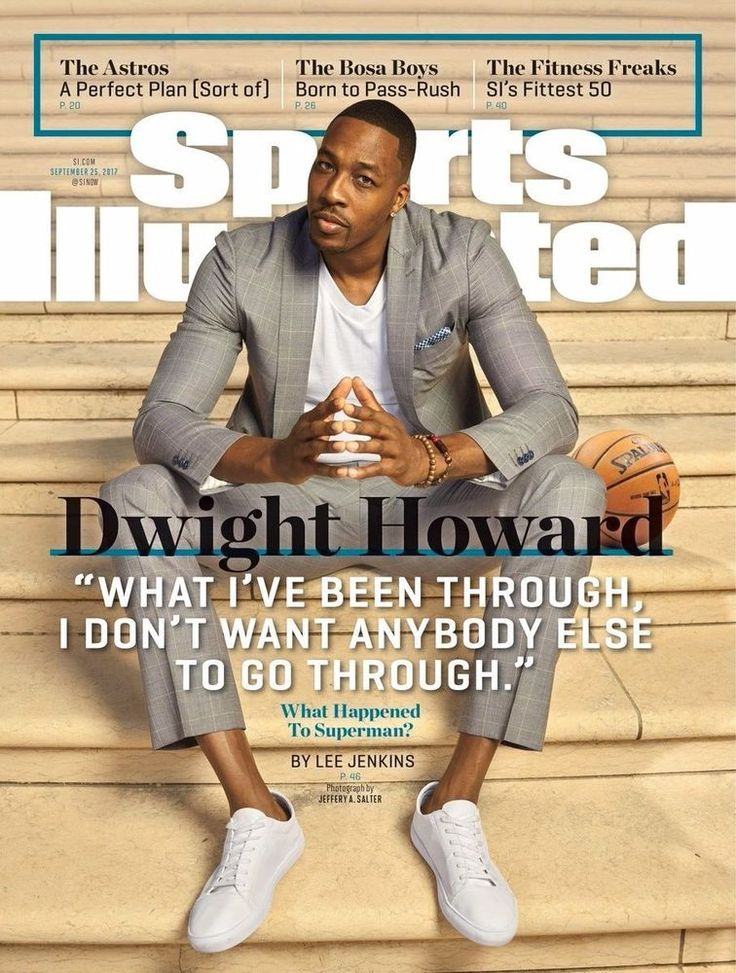 "Sports Illustrated Magazine September 25, 2017 ""Dwight Howard"""
