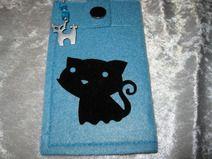 "Smartphone-Tasche ""Katze"""