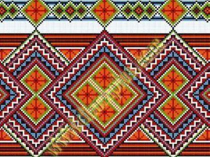 Embroidered towel unites Ukraine