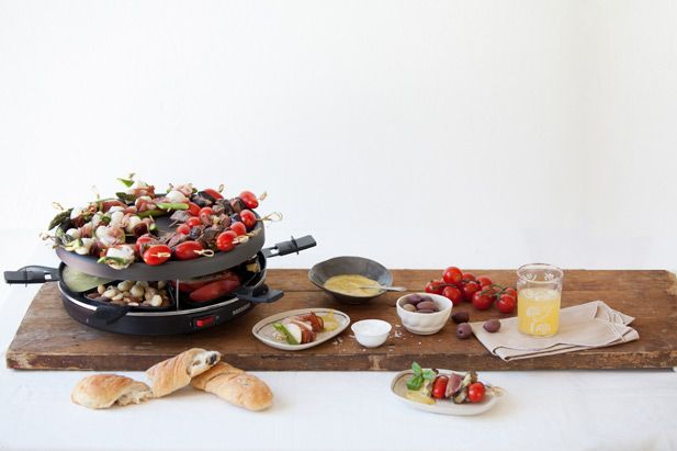 Raclette topping ideas