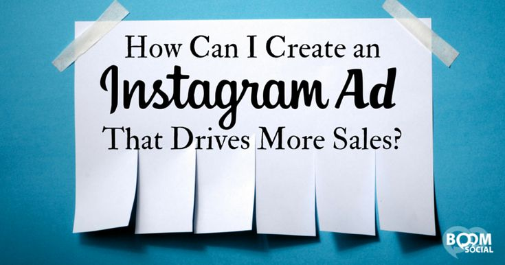 How Can You Create an #Instagram Ad that Drives More Sales | by @KimGarst | #SocialMedia #SMM | by Kim Garst for Boom Social