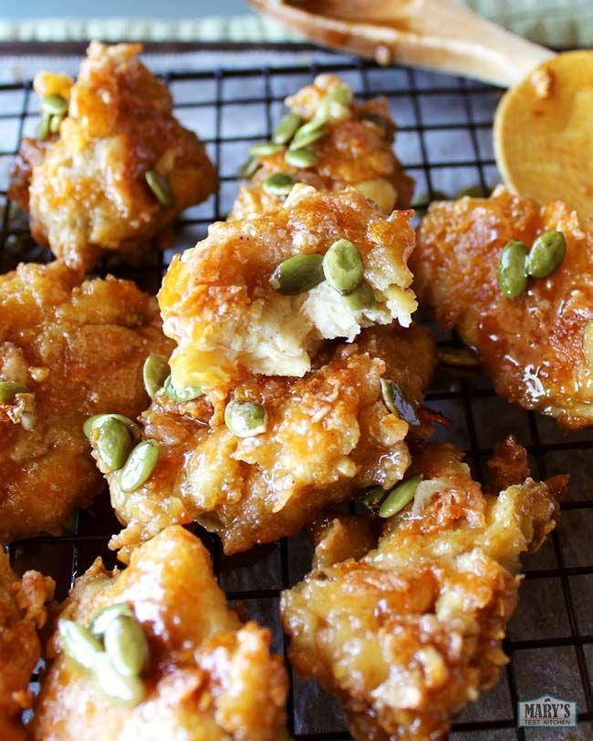 Vegan Honey Butter Chicken Recipe Honey Butter Chicken Vegan