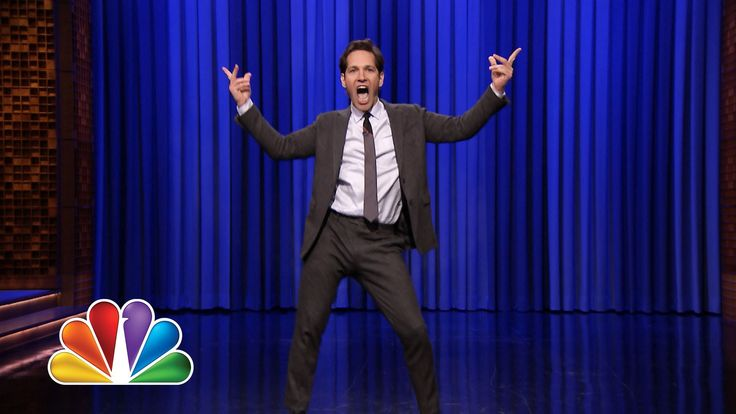 Jimmy Fallon and Paul Rudd Go Head-to-Head in an Epic Lip Sync Battle. Paul Rudd knows the way to my heart