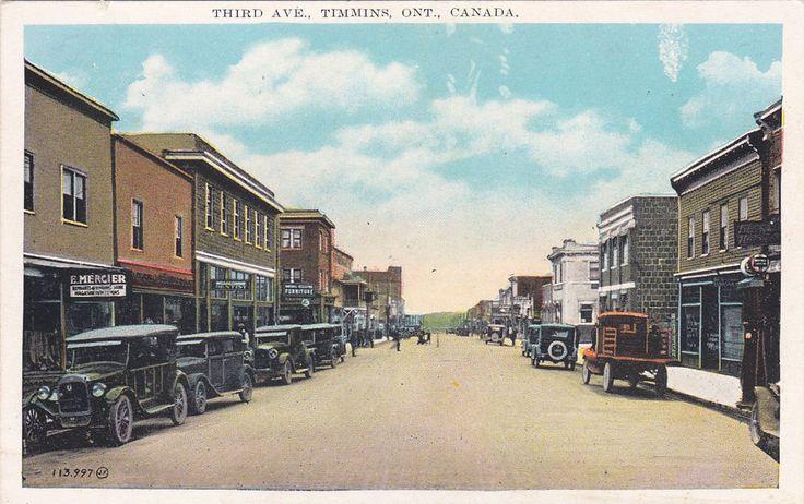Third Avenue , TIMMINS , Ontario , Canada, 00-10s