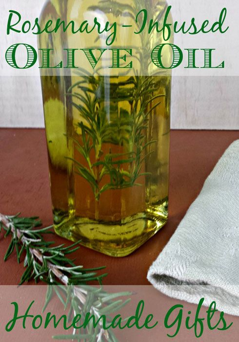 Last Minute Holiday Gift: Rosemary-Infused Olive Oil