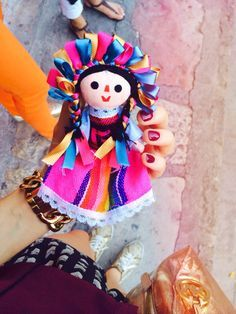 Hand made doll from San Miguel de Allende, Mexico! #jjexplores