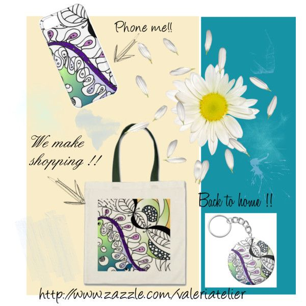 """""""Imaginary garden collection"""" by valeriatelier on Polyvore"""