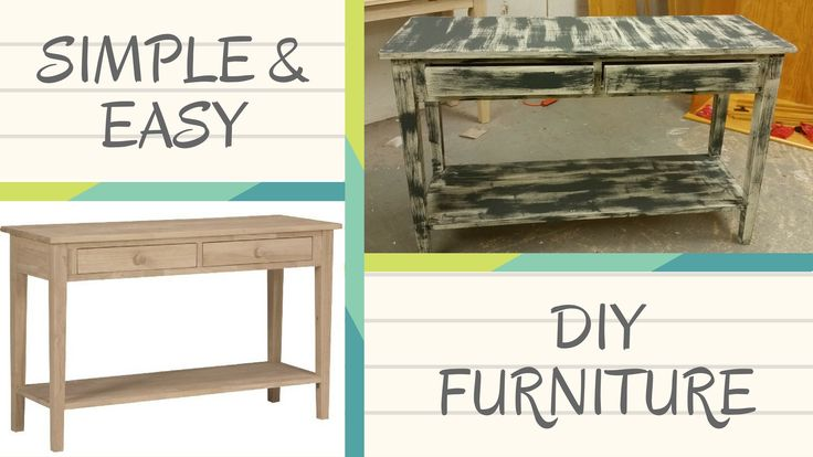From Box to Beauty: How To Create With Unfinished Furniture