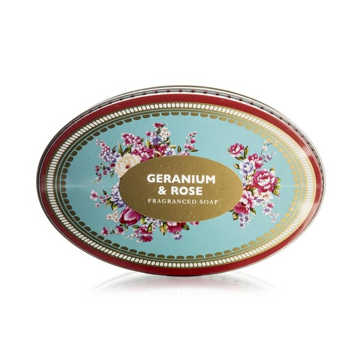 Geranium & Rose Soap
