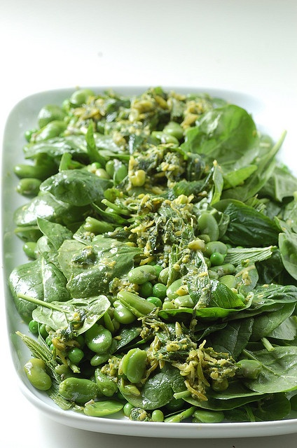 Baby Spinach with Peas and Lemon Zest | Recipes & Inspiration | Pinte ...