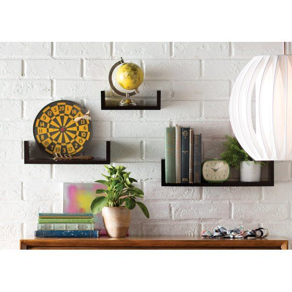 online retailer bf52b bc0b4 Wickes 3 Piece Floating Shelf Set | Shelves in 2019 ...