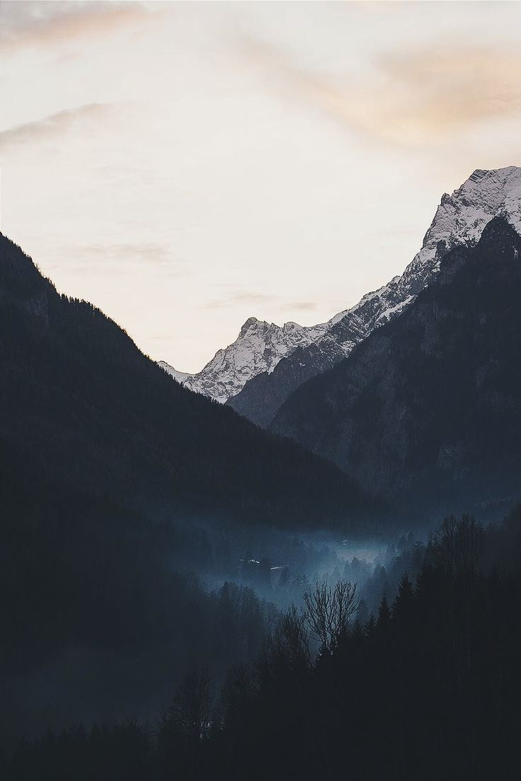 """ikwt: """"  Fog in the valley (lebackpacker) 