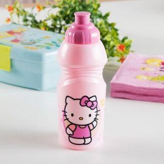 Bidon dla dzieci plastikowy HELLO KITTY 0,4 l